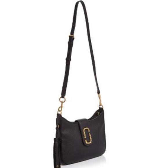 Marc Jacobs Interlock black leather bag 2 straps. M 5a985f20d39ca2d8fc84d4ac 500dea376a2f4